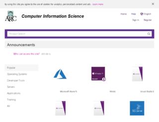 arc-cis.onthehub.com screenshot