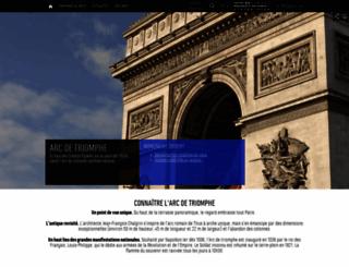 arc-de-triomphe.monuments-nationaux.fr screenshot