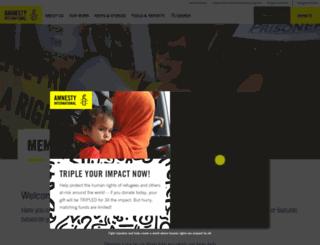 arc.amnestyusa.org screenshot