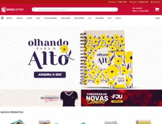 arcacenter.com.br screenshot