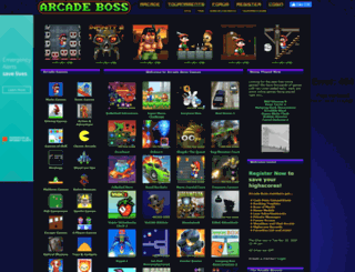 arcadeboss.com screenshot