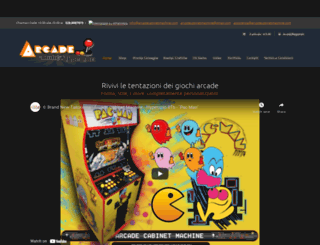 arcadecabinetmachine.com screenshot