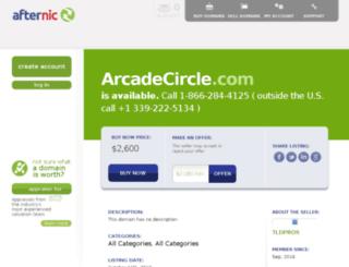 arcadecircle.com screenshot