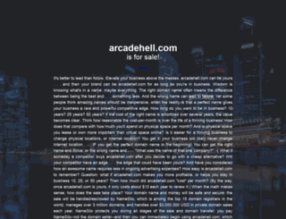 arcadehell.com screenshot