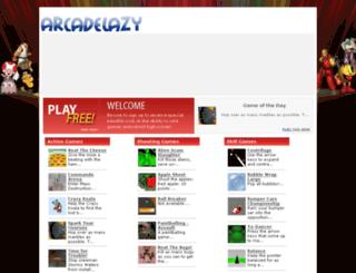 arcadelazy.com screenshot