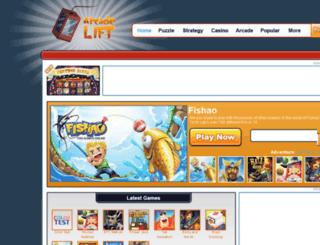 arcadelift.com screenshot