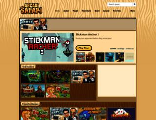 arcadesafari.com screenshot