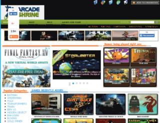arcadeshrine.com screenshot