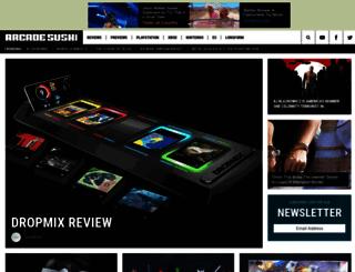 arcadesushi.com screenshot