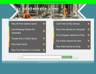 arcadetemple.com screenshot