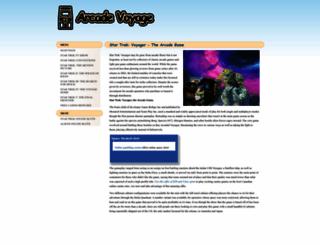 arcadevoyage.com screenshot