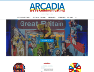 arcadia.info screenshot