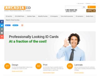 arcadiaid.com screenshot
