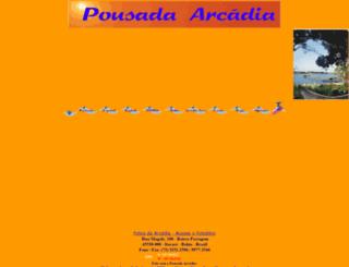 arcadiapousada.com.br screenshot