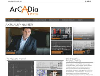 arcadiapress.pl screenshot