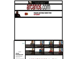 arcanos.com screenshot