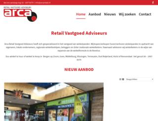 arcaretail.nl screenshot