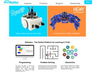 arcbotics.com screenshot