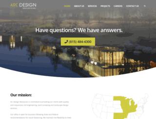 arcdesign.com screenshot