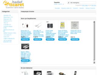 arcespazarlama.hedefeticaret.com screenshot