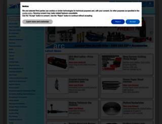 arceurotrade.co.uk screenshot
