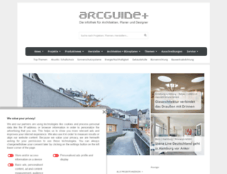 arcguide.de screenshot