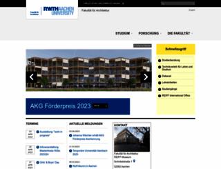 arch.rwth-aachen.de screenshot