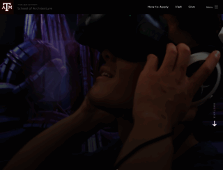 arch.tamu.edu screenshot
