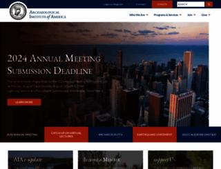 archaeological.org screenshot