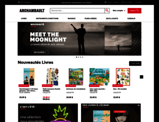 archambault.ca screenshot