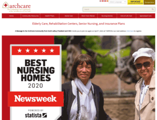 archcare.org screenshot