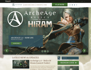 archeagegame.com screenshot
