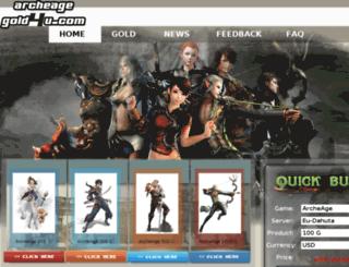 archeagegold4u.com screenshot