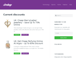 archeap.com screenshot