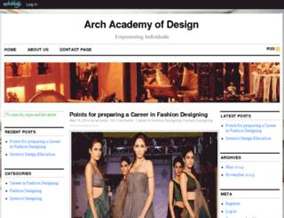 archedu.edublogs.org screenshot