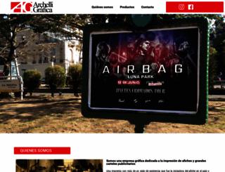 archelligrafica.com.ar screenshot