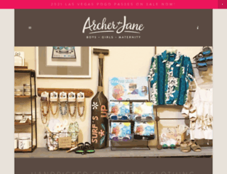 archerandjane.com screenshot