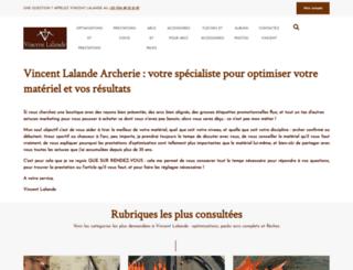 archerie-diffusion.com screenshot