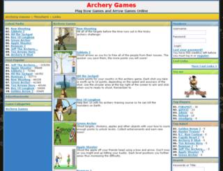 archery-games.org screenshot