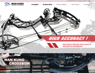archery-manufacturer.com screenshot