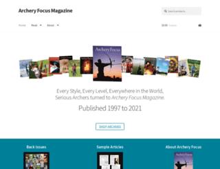 archeryfocusmagazine.com screenshot