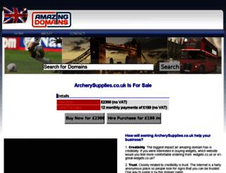 archerysupplies.co.uk screenshot