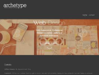 archetypewebandgraphicdesign.com screenshot