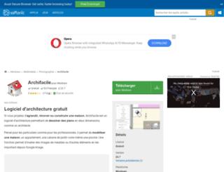 archifacile.softonic.fr screenshot