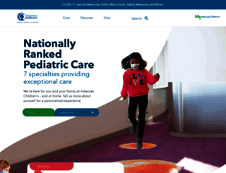 archildrens.org screenshot