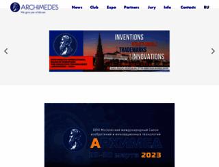 archimedes.ru screenshot