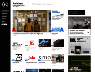 archinect.com screenshot