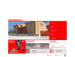 archiometra.it screenshot