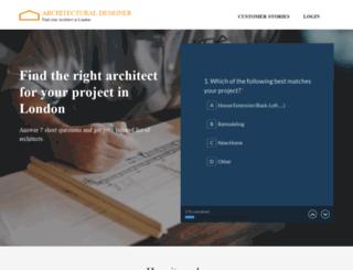 architectural-designer.co.uk screenshot
