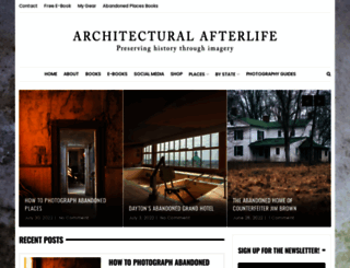 architecturalafterlife.com screenshot